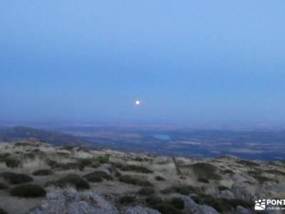 Vespertina en Perdiguera con Luna Llena; senderismo asturias rutas senderismo alicante senderismo má